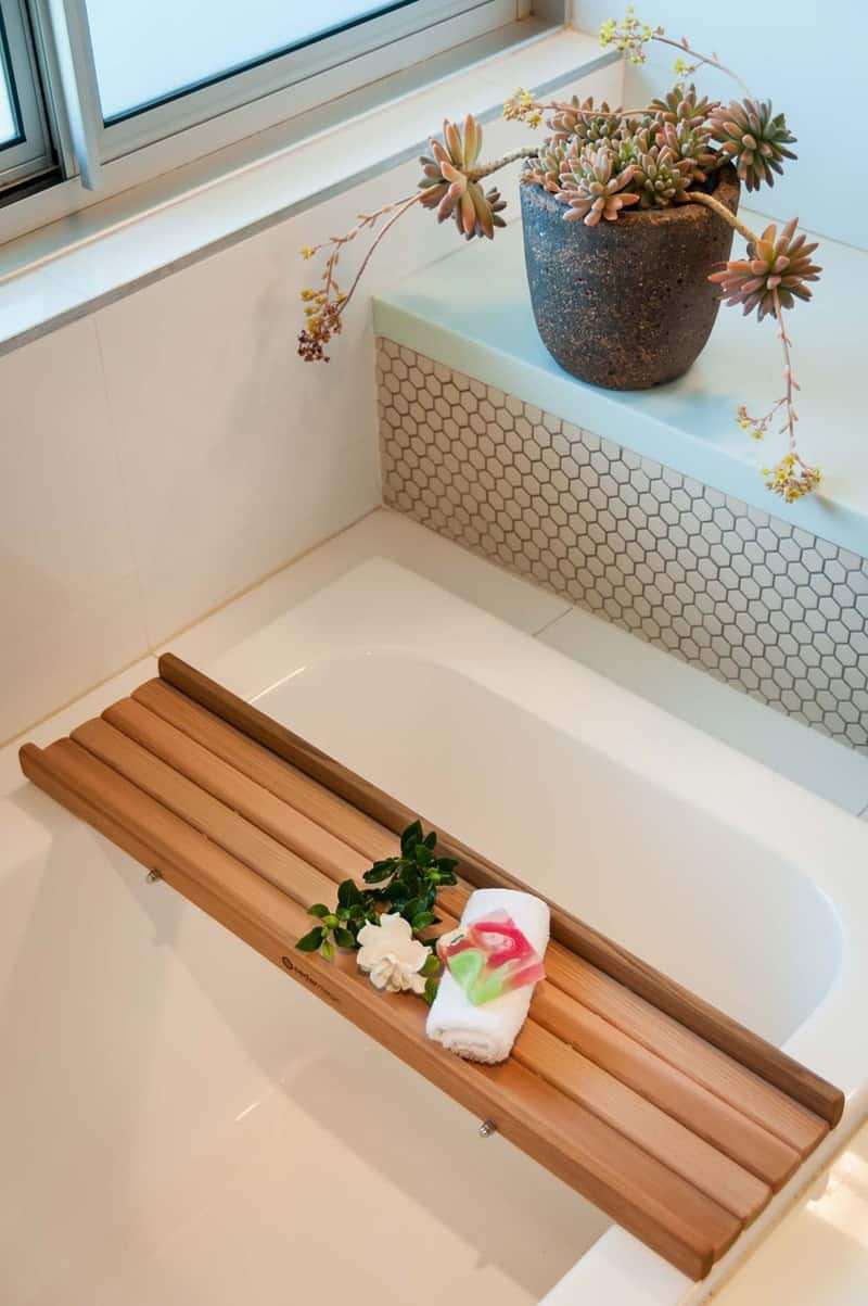 you premium time into bath normal make caddy a with turn your relax everyday experience bamboo bathtub home can spa this tray bathtray relaxing