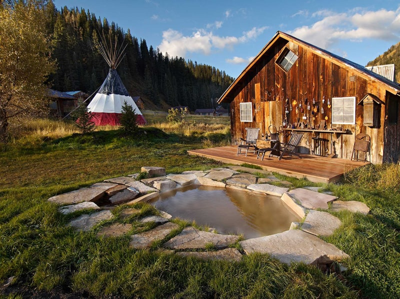 THIẾT KẾ Khu nghỉ dưỡng suối nước nóng Dunton - Colorado (2)