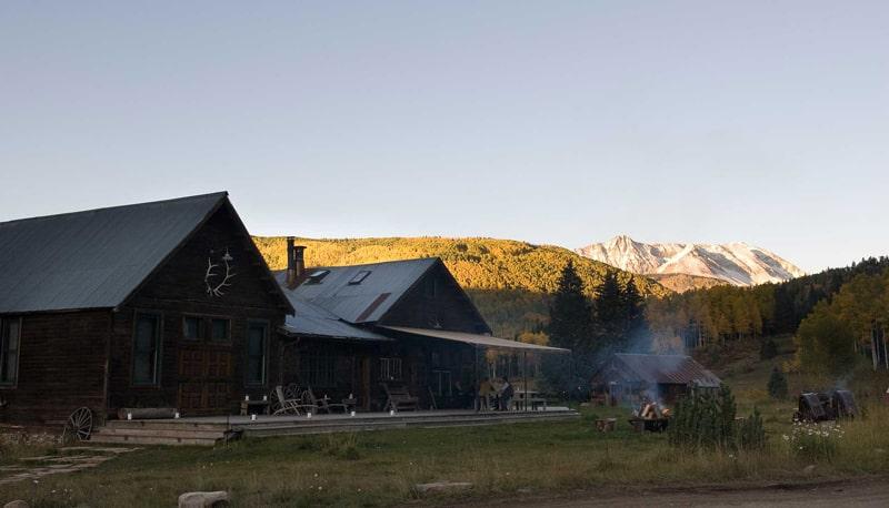 THIẾT KẾ Khu nghỉ dưỡng suối nước nóng Dunton - Colorado (6)