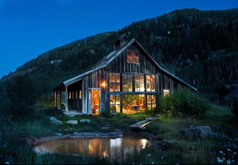 Khu nghỉ dưỡng suối nước nóng Dunton - Colorado-designrulz (1)