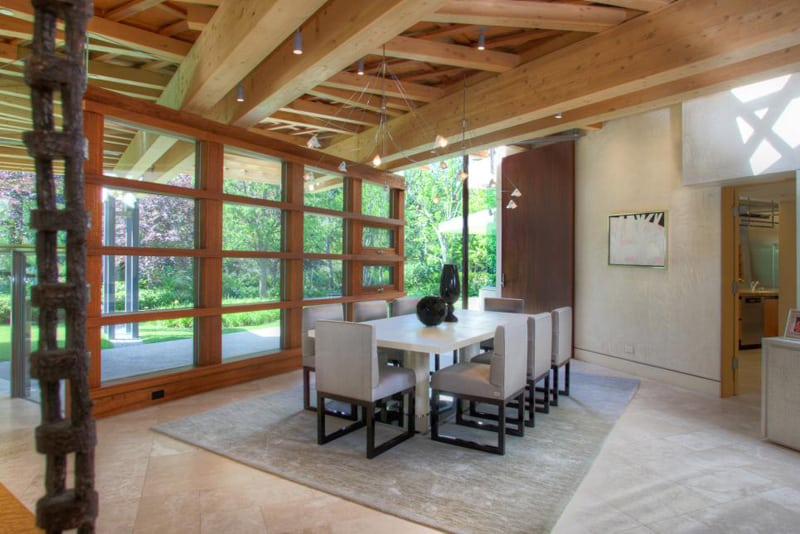 25 modern interiors with exposed ceiling beams for House plans with exposed beams