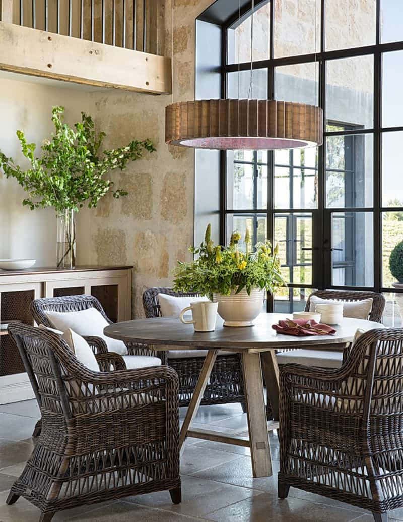 Stunning Private Residence In California: Healdsburg Ranch By Jute Interior  Design