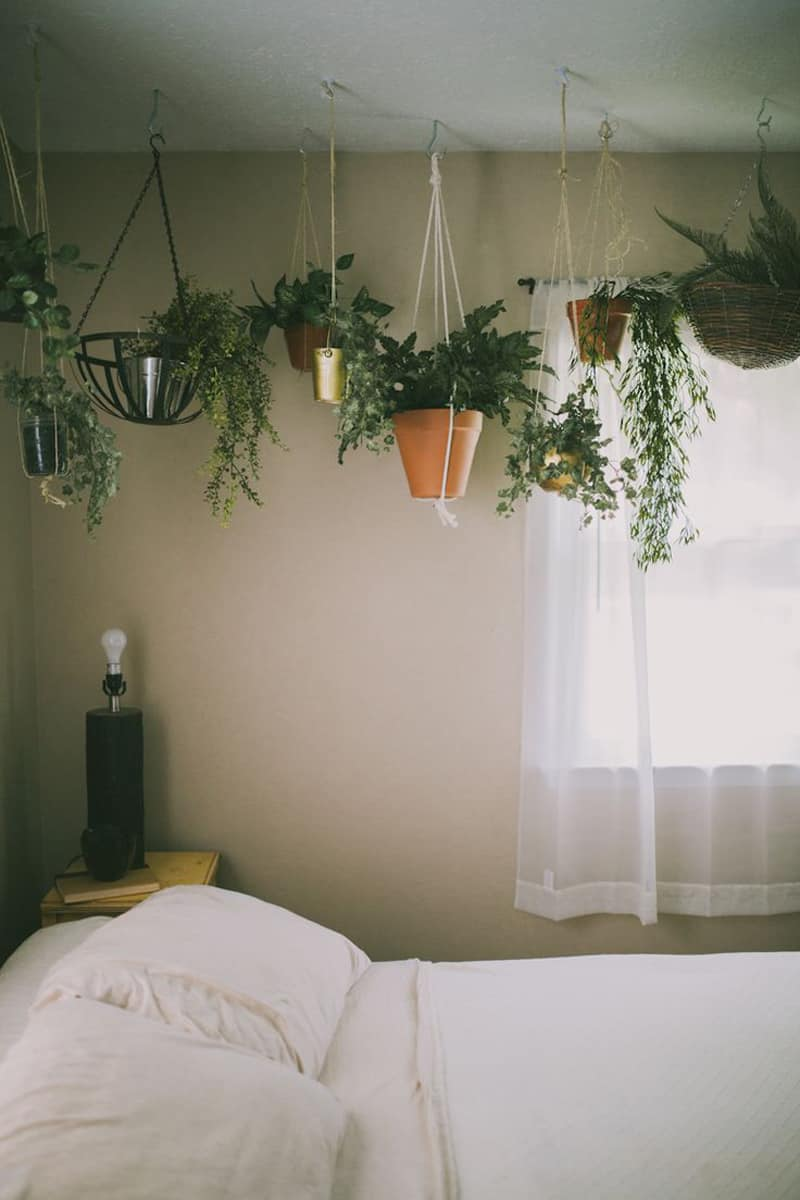 tumblr white bedroom plants macrame plant hanger patterns to embellish any rustic or 288