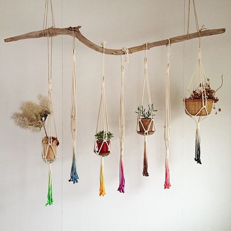 macrame plant hangers diy macrame plant hanger patterns to embellish any rustic or 3106