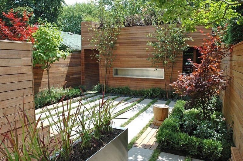 20 cheap landscaping ideas for backyard for Disenos de patios traseros