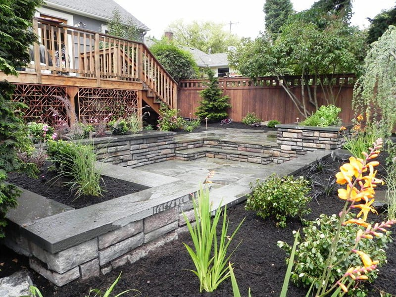 20 Cheap Landscaping Ideas For Backyard on Backyard Garden Design id=53732