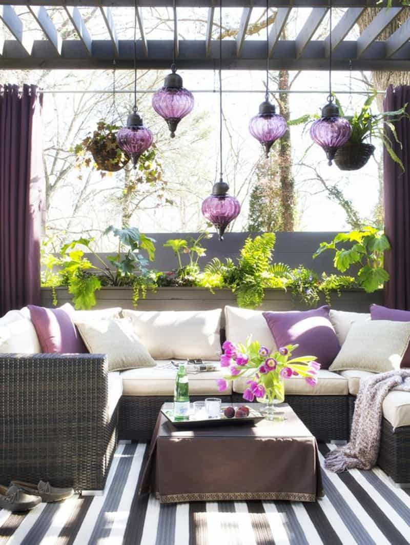 25 Stunning Outdoor Living Spaces on Small Backyard Living Spaces id=81092
