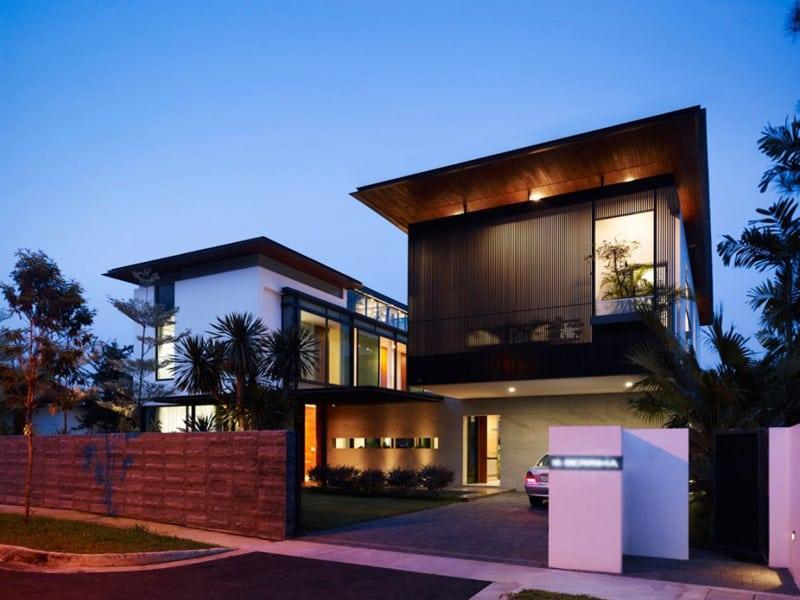 Superb Garage In Front Of House Design Part - 8: Garage-in-front-of-the-house-designrulz (1)