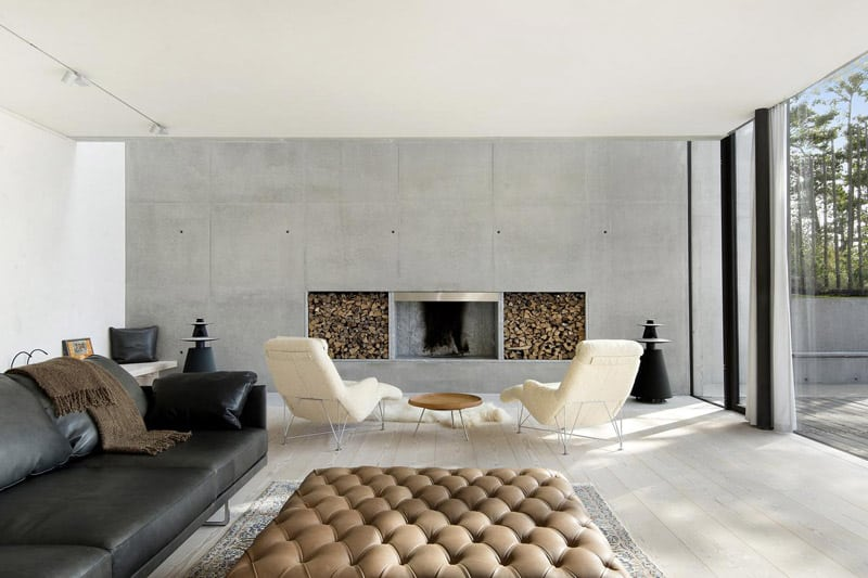 10 Examples Of Contemporary Fireplace Surrounds
