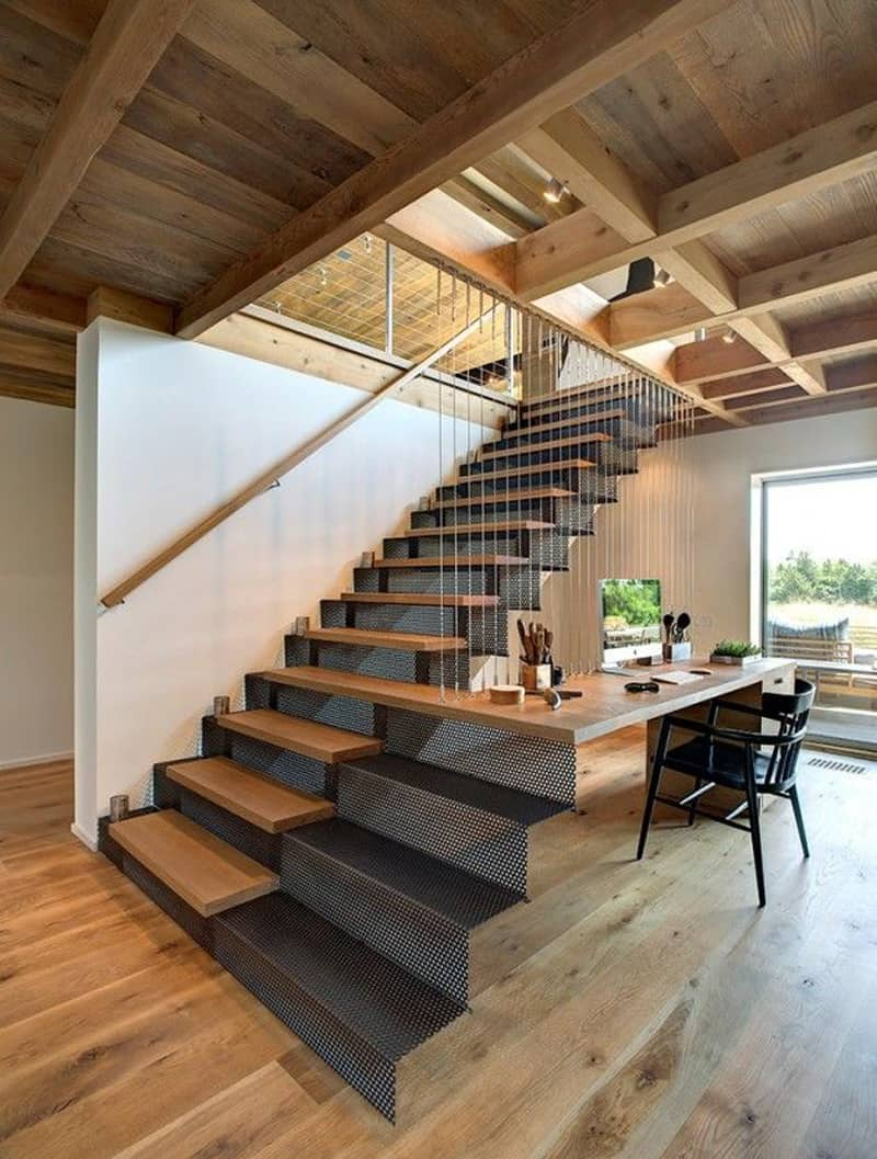 40 amazing staircases details that will inspire you for Fabriquer un escalier exterieur