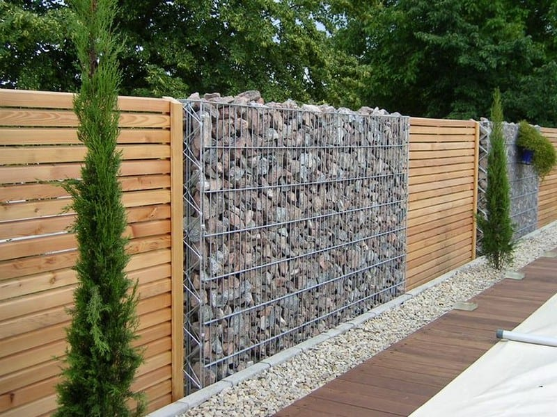 Stone Walls And Gabion Stone Fences– A Stylish Alternative For