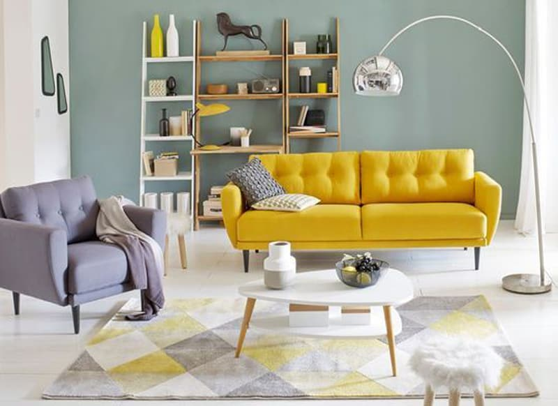 Yellow interior design ideas