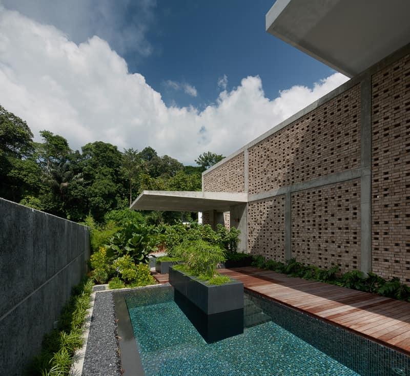 Bungalow House By Ipli Architects Singapore
