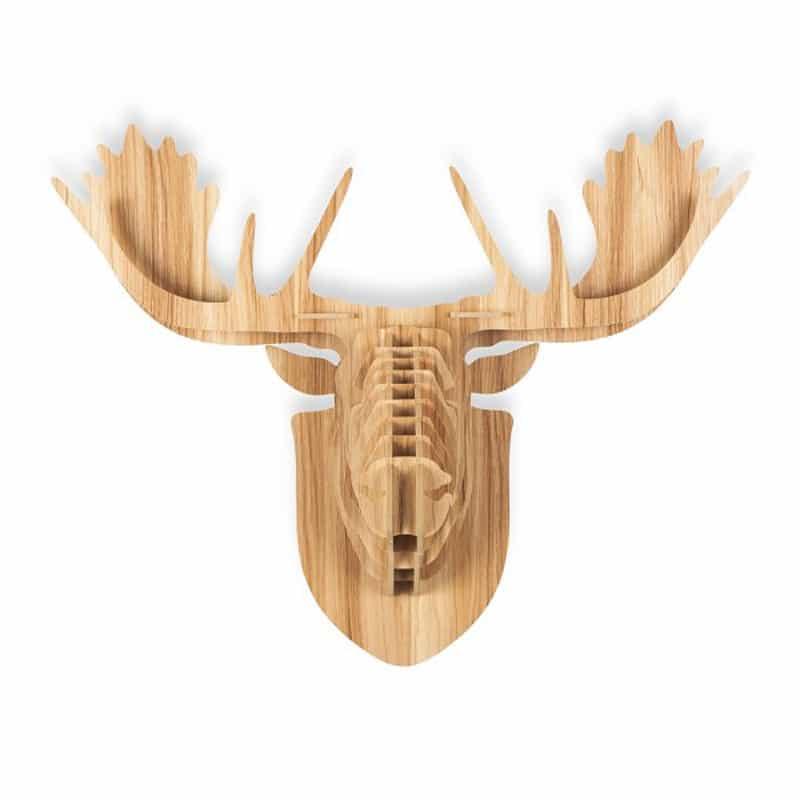 5 wood animal heads (3)