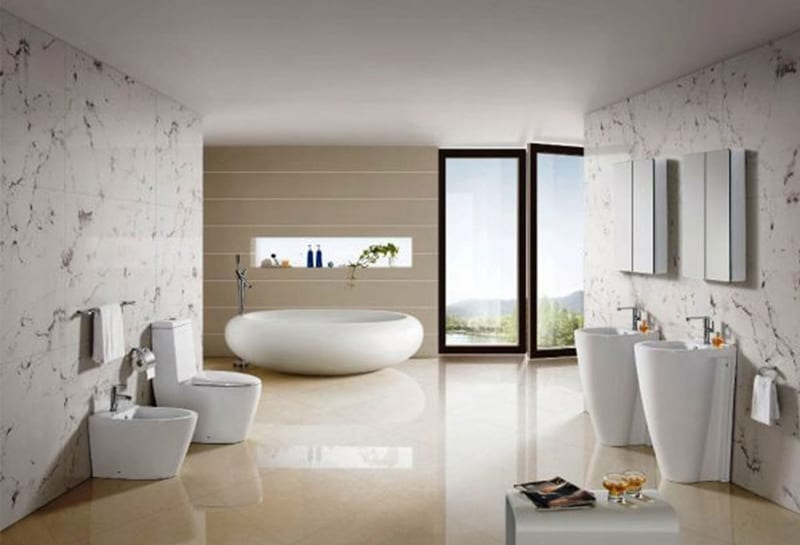 Latest Bathrooms Design Bathroom Design Trends-designrulz (1)