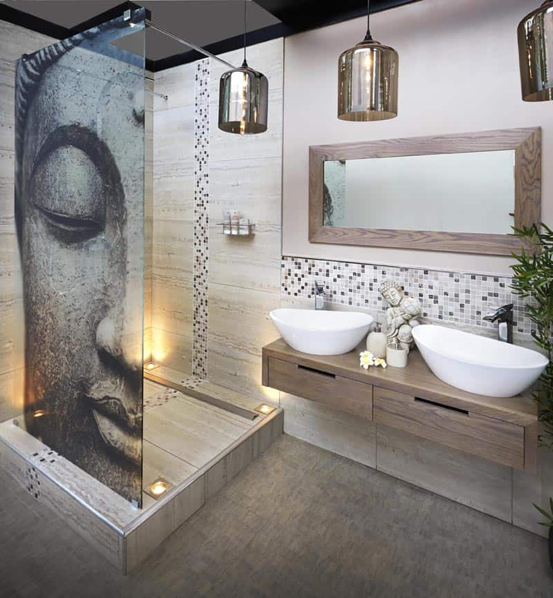Latest bathroom design trends for Modern bathroom tile trends