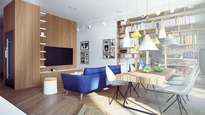 DA Architectsblue-sofa