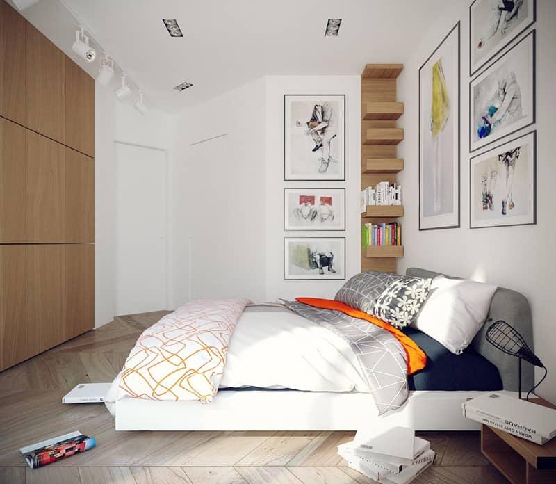 DA Architectswhite-bedroom