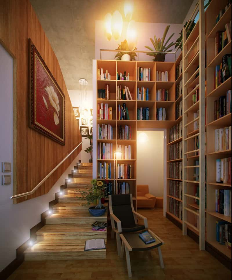 How To Store Books In A Home Library