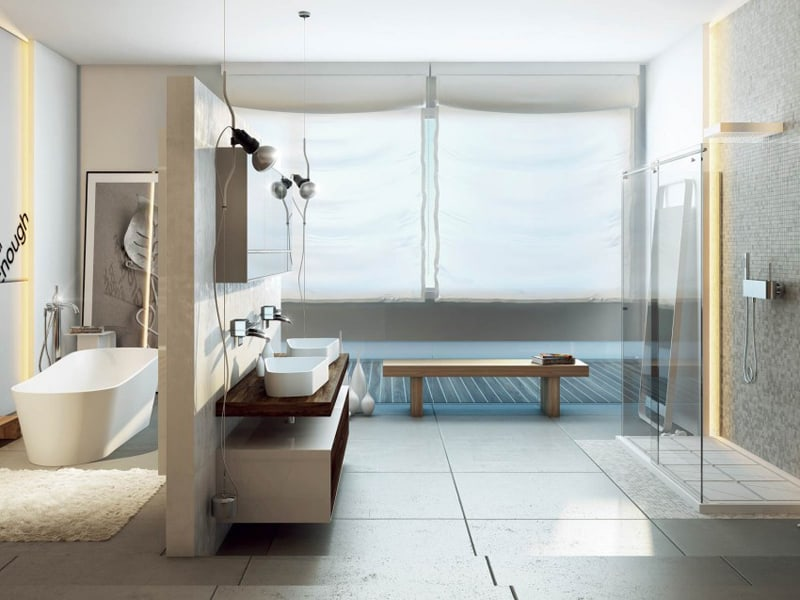 20 Modern Bathrooms Design Ideas For Your Private Heaven