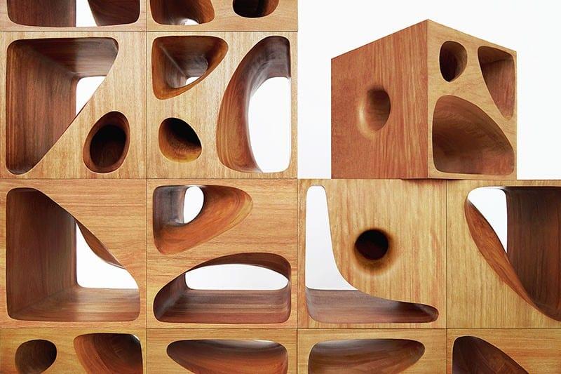 Sculptural Wood Cubes Designed For Playful Cats_designrulz (1)