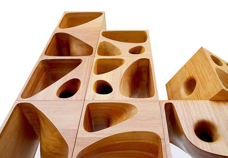 Sculptural Wood Cubes Designed For Playful Cats_designrulz (3)