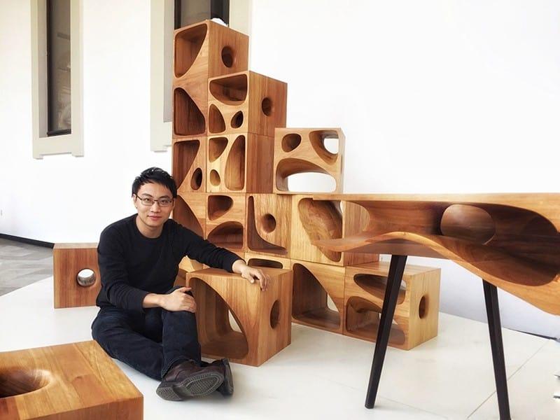 Sculptural Wood Cubes Designed For Playful Cats_designrulz (4)