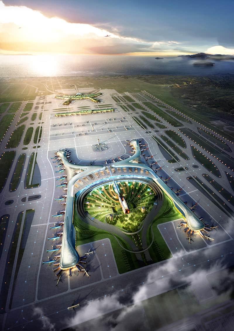 South Korea New airport-designrulz (8)