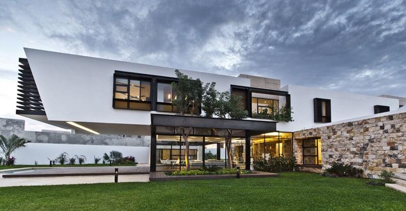 Contemporary Comfort At The Temozón House in Yucatan, Mexico