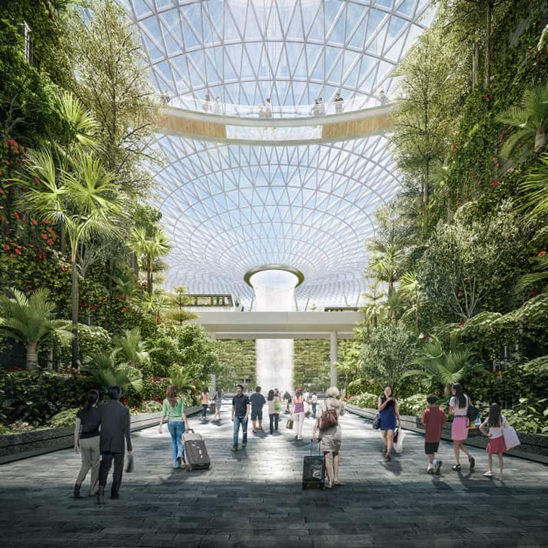 This Incredible Urban Park Will Be Inside One Of The World's Busiest Airports-designrulz (3)