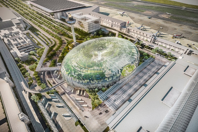 This Incredible Urban Park Will Be Inside One Of The World's Busiest Airports-designrulz (5)