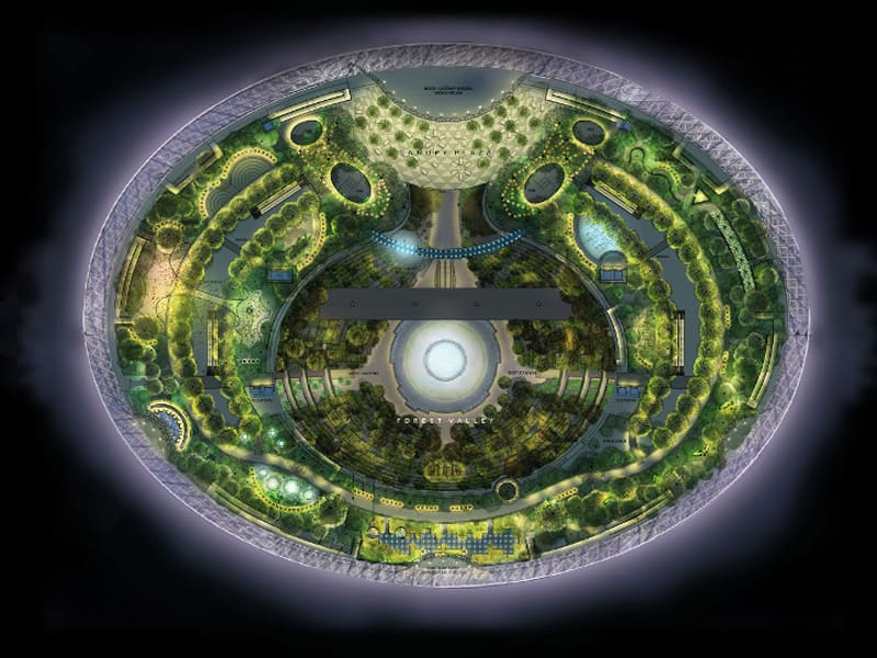 This Incredible Urban Park Will Be Inside One Of The World's Busiest Airports-designrulz (6)