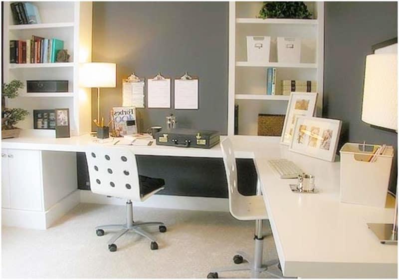 Unique Home Office Desk Design  HomeWork Desk