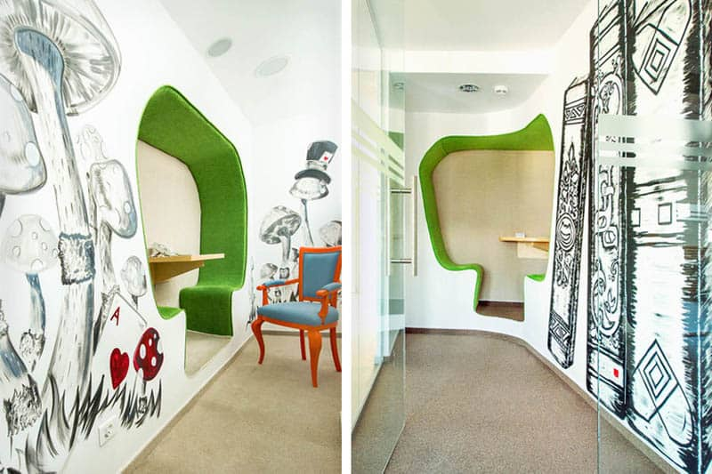 Creative office design by manole zece romania for Creative office layout
