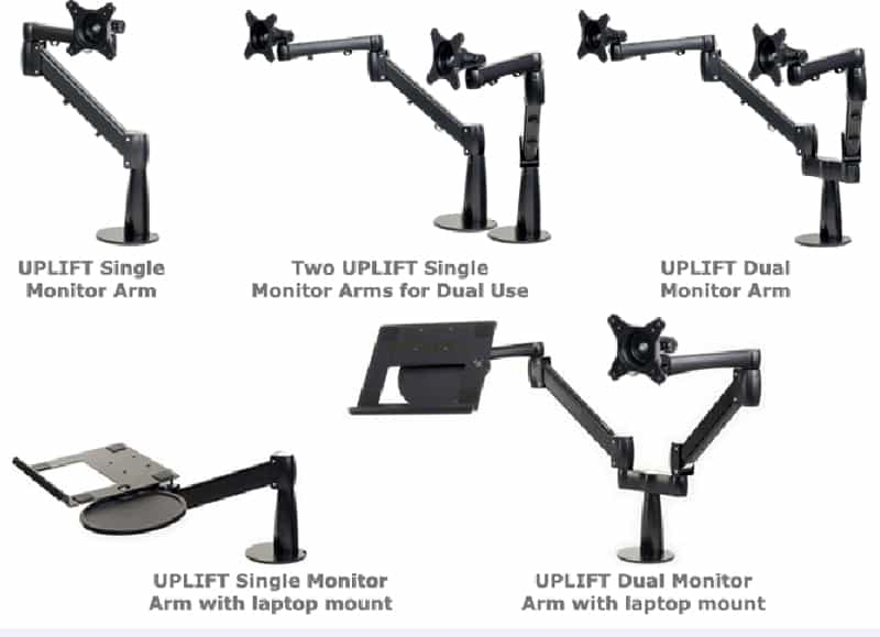 dr-UPLIFT Height Adjustable Sit Stand Desk-designrulz