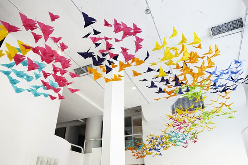 Origami Butterflies Designrulz 1 2