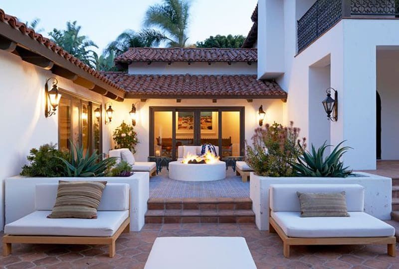 30 lovely mediterranean outdoor spaces designs for Spanish style homes for sale near me