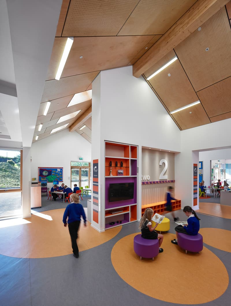 primary kirkmichael interior architecture holmes miller buildings building designs college cool university designrulz education archdaily modern schools elementary kindergarten educational