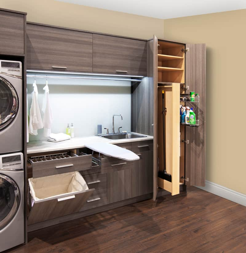 Brilliant ways to organize and add storage to laundry rooms - Laundry rooms for small spaces decoration ...