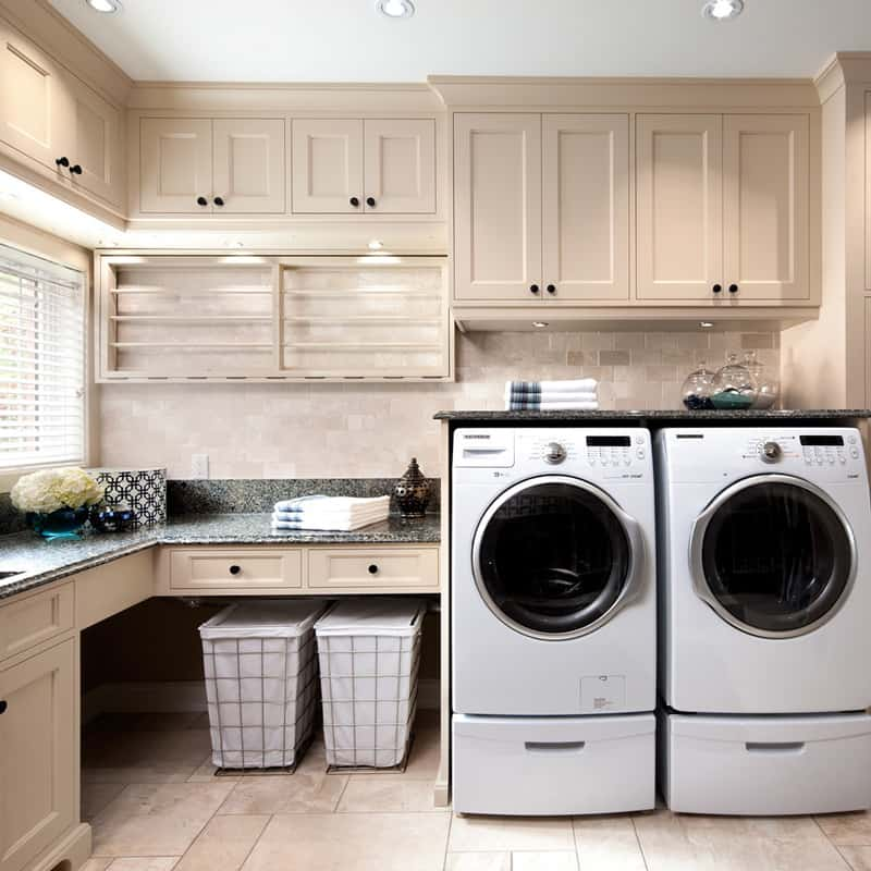 60 Beautiful Small Laundry Room Designs: Brilliant Ways To Organize And Add Storage To Laundry Rooms