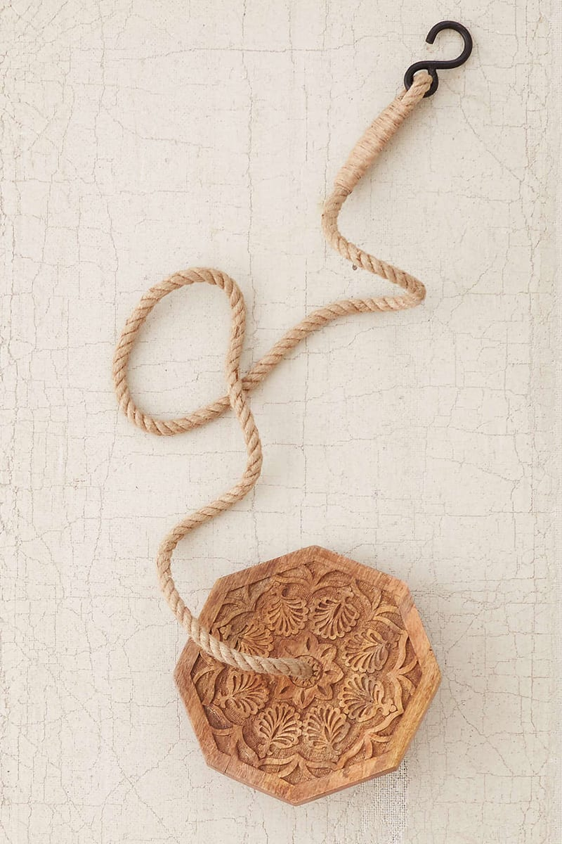 Magical Thinking Carved Wood Indoor Swing (2)