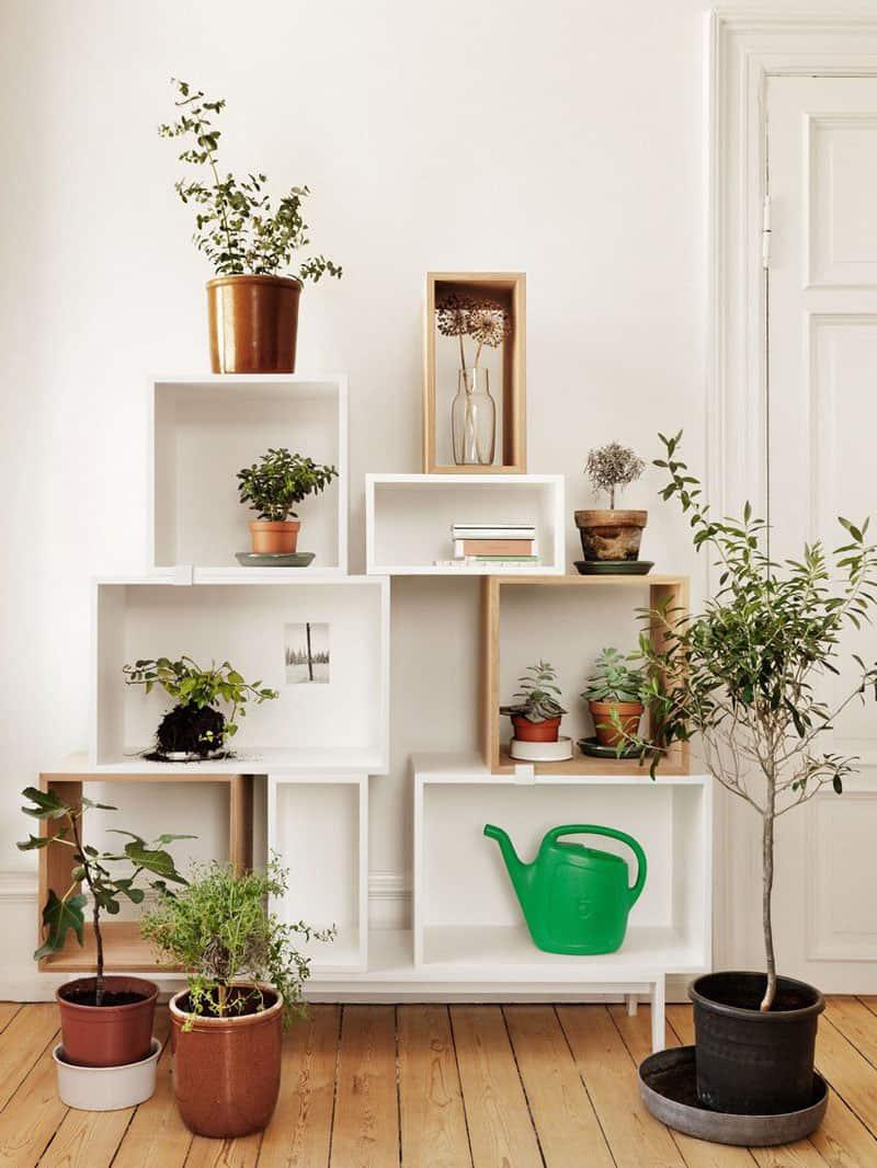 10 Furniture Design Ideas: Modular Bookcase For Living Room