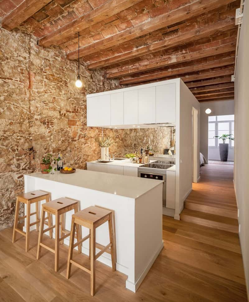 Renovation apartment in les corts by sergi pons barcelona for Kitchen gadgets barcelona
