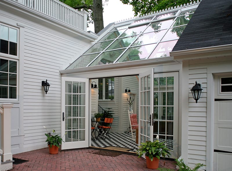 30 stunning ideas of bright sunrooms designs for Detached sunroom
