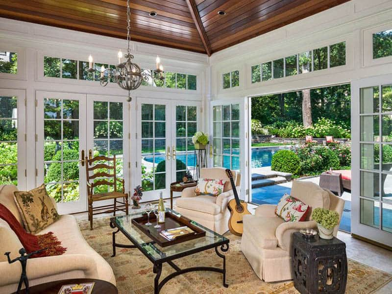 30 stunning ideas of bright sunrooms designs Florida sunroom ideas
