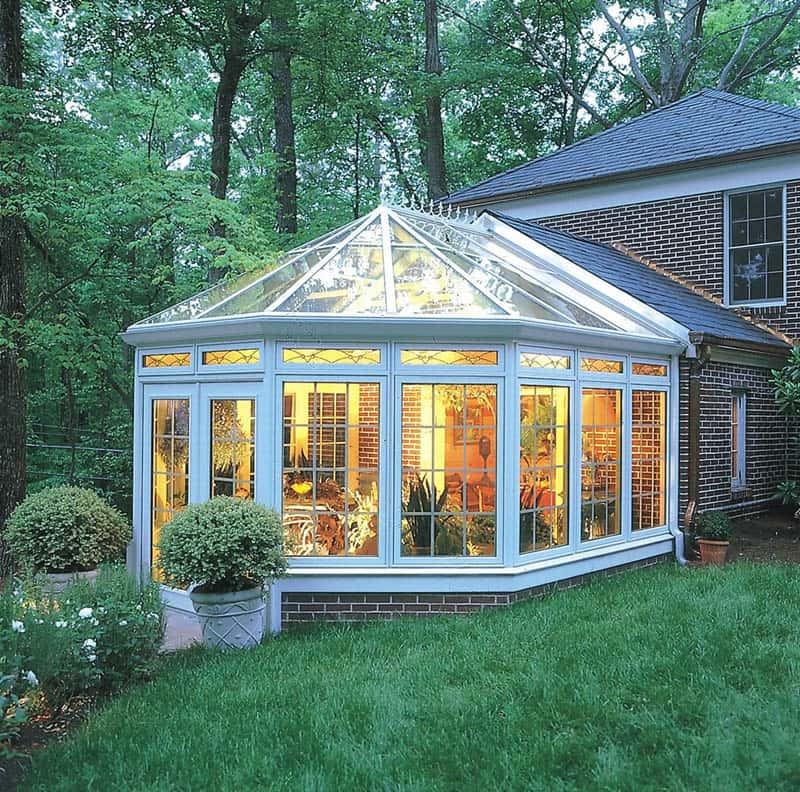 30 stunning ideas of bright sunrooms designs for Sunroom plans free