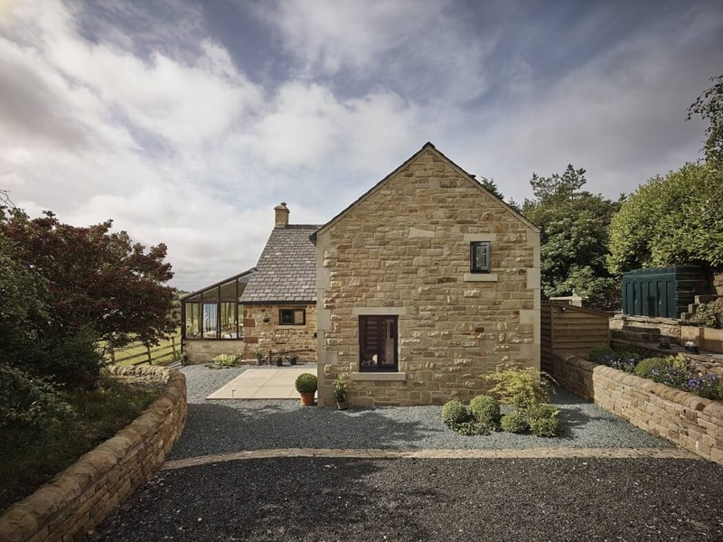 A Charming Stone Cottage Hocker Farm In Uk By Donald