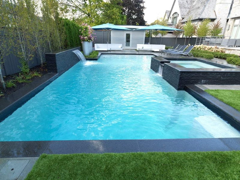A Strong Addition To Any Yard 20 Geometric Swimming Pool Designs
