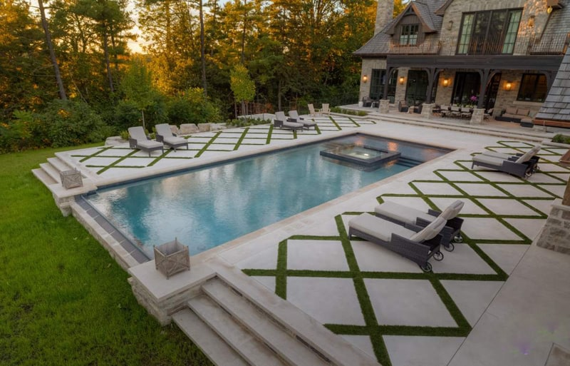 Attractive Pool Designrulz (2). Geometric Pool Designs ...