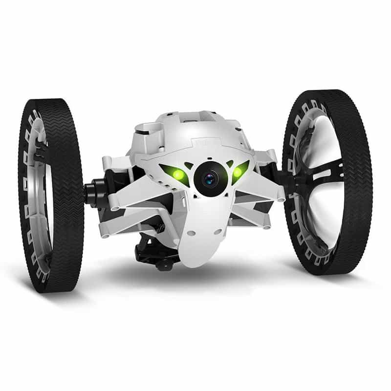 03 Parrot Mini Drone Jumping Sumo, White